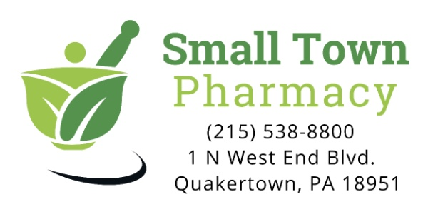 Small Town Pharmacy Logo